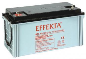 Baterie Effekta BTL12-120 12V 120Ah - 10 let