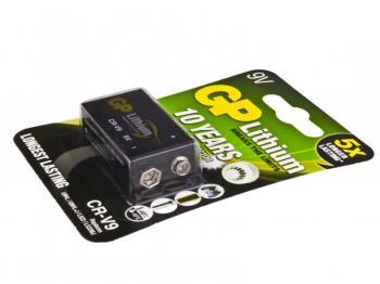 Nenabíjecí baterie 9V GP Lithium 1ks Bulk - 800mAh