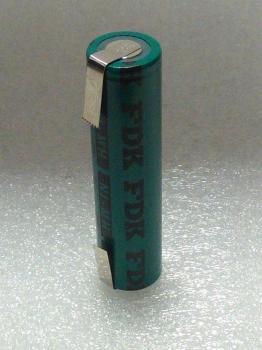Baterie FDK HR-4/3AU NiMH 1,2V 4/3A 4000mAh s vývody do U