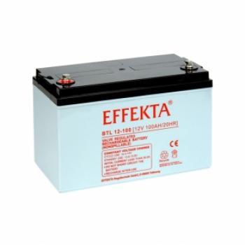 Baterie Effekta BTL12-100 12V 100Ah - 10 let