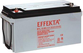 Baterie Effekta BTL12-80 12V 80Ah - 10 let