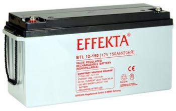 Baterie Effekta BTL12-150 12V 150Ah - 10 let
