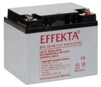 Baterie Effekta BTL12-45 12V 45Ah - 10 let