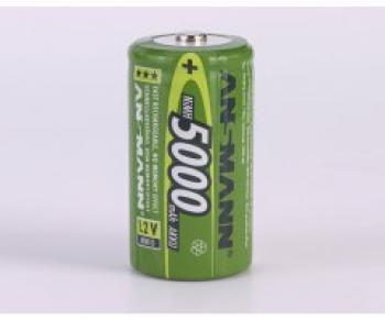 Nabíjecí baterie Ansmann velikost D (mono R20) 5000mAh - 1 kus