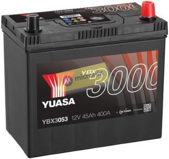 Autobaterie YUASA YBX3053 12V 45Ah 400A