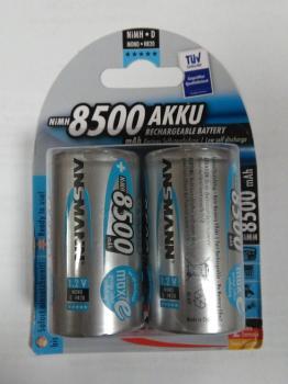 Nabíjecí baterie Ansmann velikost D (mono R20) 8500mAh s potlačeným samovybíjením