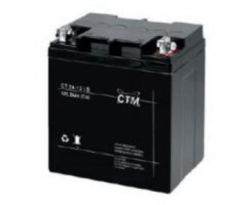 Akumulátor CTM 12V 24Ah - M5 (CT12-24s) - vysoký