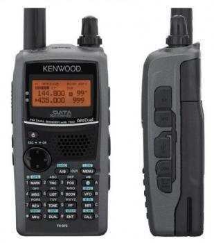 KENWOOD TH-D72E ,dualband 144/430MHz s GPS a APRS