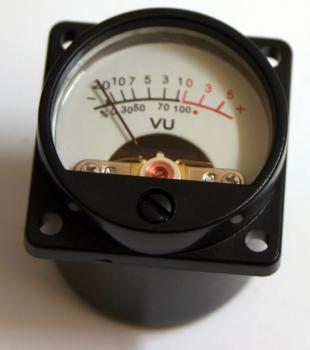 Panelový VU metr - 35mm - SD39 s podsvícením
