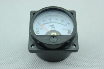 Panelový mV metr - rozsah DC 100mV - S045