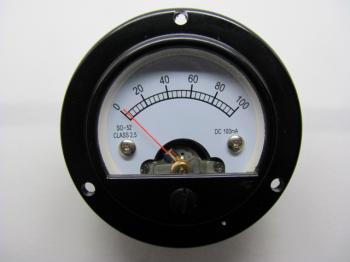 Panelový mV metr - rozsah DC 100mV - SO52