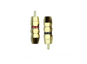 Hifi konektor - RCA cinch zlaty - GDRJ5003
