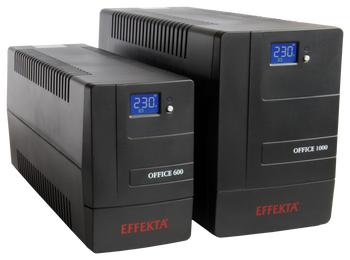 Line-interactive UPS Effekta OFFICE 600VA 360W 1:1