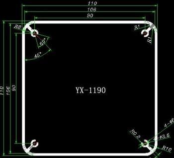 Šasí pro transformátor stříbrná barva GDTC02