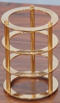 Chladič pro elektronky 300B, 2A3 - zlatý