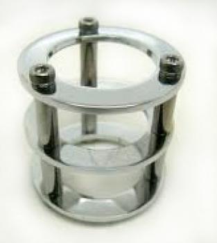 Chladič pro elektronky 12AX7/ECC83 - Stříbný