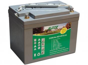 HAZE 12V 33Ah HZY12-33EV olověný akumulátor pro elektrické vozíky