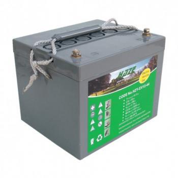 HAZE 12V 44Ah HZY12-44EV olověný akumulátor pro elektrické vozíky