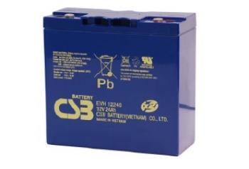 Akumulátor (baterie) CSB EVH12240 12V 24Ah - 400 cyklů