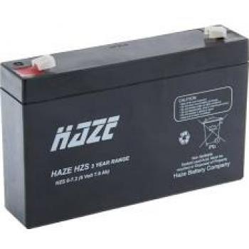 Akumulátor Haze 6V 7,2Ah HZS 6-7,2 F1