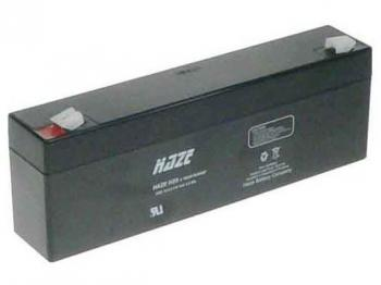 HAZE 12V 2,2Ah olověný akumulátor F1