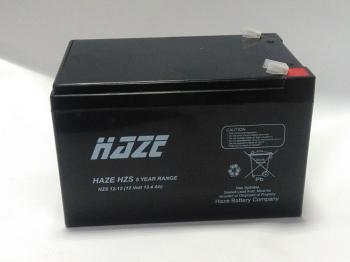 HAZE 12V 12Ah HZS 12-12 olověný akumulátor F2