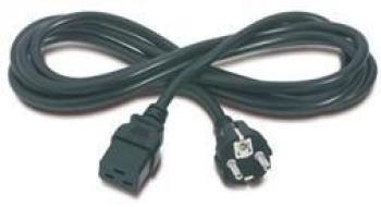 Kabel pro UPS a servery, PC 230V 16A - IEC 320 C19