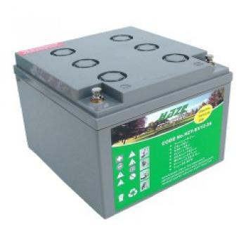 HAZE 12V 26Ah HZY12-26EV olověný akumulátor pro vozíky