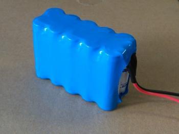 Zálohovací baterie pro nouzová světla a dveřní systémy 2x5 AA NiCd 12V 800mAh