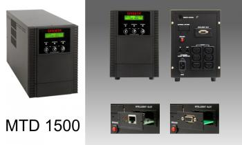 Line-interactive UPS Effekta MTD1500 1500VA 938W 1:1
