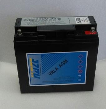 HAZE 12V 18Ah HZB12-18 olověný akumulátor