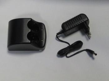 Nabíječka pro 2ks aku-baterie Black and Decker Versapak VP100