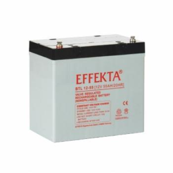 Akumulátor Effekta BTL12-55 12V 55Ah