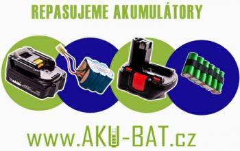 Repase aku-baterie 16,8V 1,7Ah NiCd z článků Panasonic N-1700SCR PP