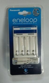 USB nabíječka Panasonic Eneloop CC61E pro nabíjení až 4x AA/AAA baterií