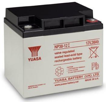 Akumulátor (baterie) Yuasa NP38-12I 12V 38Ah - 10 let