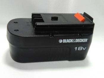 Náhradní baterie pro BLACK & DECKER A1718 NiCd 18V 1700mAh, bazarové zboží