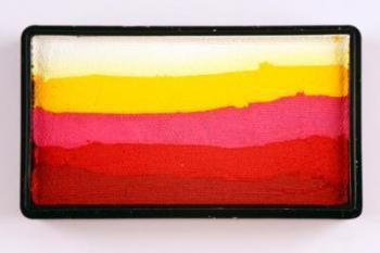 Colorblock split cake 30g ROSES Cameleon barva na tělo a obličej