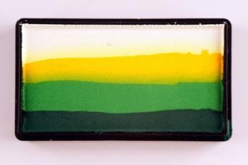 Colorblock split cake 30g FRESH GRASS Cameleon barva na tělo a obličej