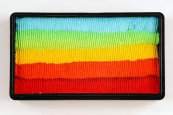 Colorblock split cake 30g RAINBOW WOW Cameleon barva na tělo a obličej