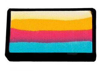 Colorblock split cake 30g LOVEBIRD by Brierely Cameleon barva na tělo a obličej