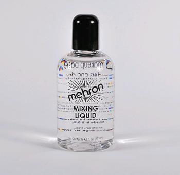 MEHRON tekutina pro pudr pigment na tělo - mixing LIQUID powder - 130ml