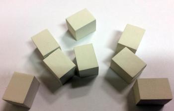 Výplň podpatků STYROPOR (vel:15mm x 15 mm x 20 mm)