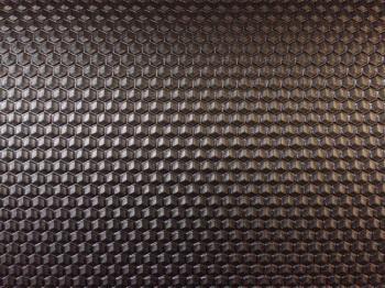 Plotna Včelí plást 6mm - černá