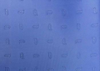 Plotna VIBRAM 1mm (92x58) modrá