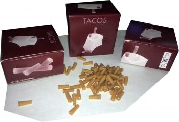 Tacos (kolíky do podpatků) vel.P 200ks