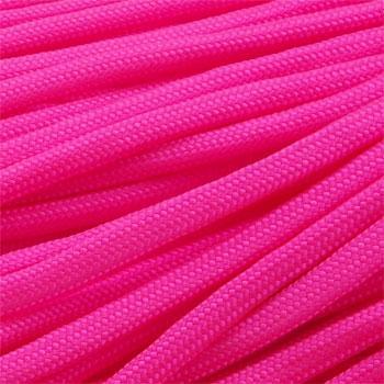 Paracord 550 neon růžová