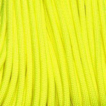 Paracord 550 neon žlutá