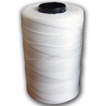 Voskovaná příze - EURO 1mm bílá