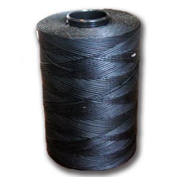 Voskovaná příze - EURO 1mm černá